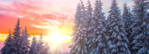 Willa Ludwinów zimą